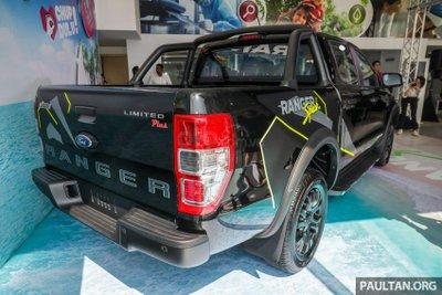 Ford Ranger Splash số lượng có hạn
