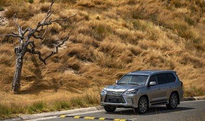 Thông số kỹ thuật Lexus LX 2020 vừa mở bán tại Việt Nam A2