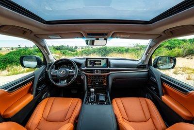 Thông số kỹ thuật Lexus LX 2020 vừa mở bán tại Việt Nam A7