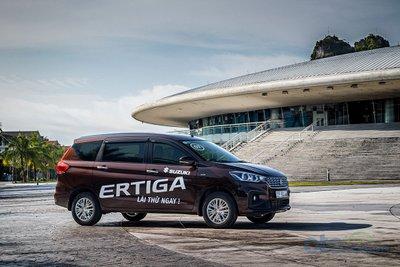 Suzuki Ertiga mới ra mắt tháng 6 vừa qua.