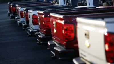 xe bán tải tại Mỹ