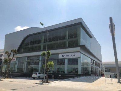 Đại lý Toyota Huế đi vào hoạt động từ 2/11/2019.