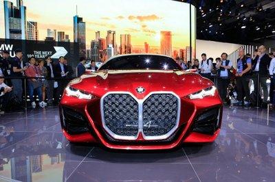 Lưới tản nhiệt trên BMW Concept 4