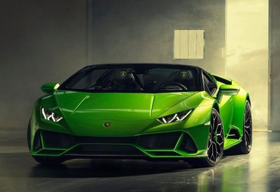 Lamborghini Huracan Evo Spyder mui trần