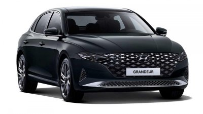 Xe sang đầu bảng Hyundai Grandeur 2020 ra mắt ấn tượng.