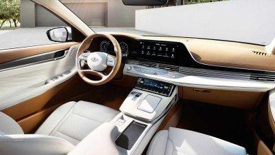 Xe sang đầu bảng Hyundai Grandeur 2020 ra mắt ấn tượng..
