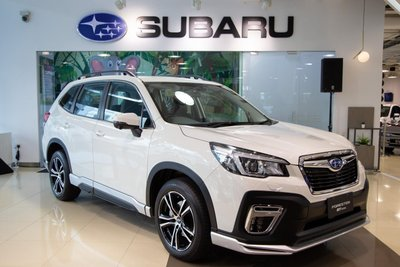 Subaru Forester GT edition mới ra mắt.