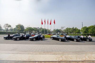 Xe VinFast sẽ đóng vai trò làm phương tiện chuyên chở các khách mời tham dự Hội nghị ASEAN 2020 1.