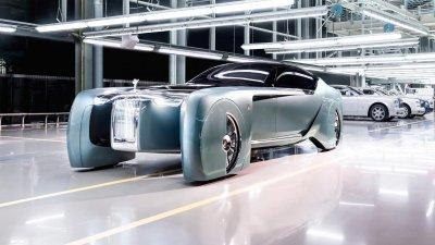 Rolls-Royce 103EX - Phiên bản concept định nghĩa lại xe ô tô của tương lai.