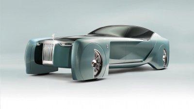 Rolls-Royce 103EX - Phiên bản concept định nghĩa lại xe ô tô của tương laim