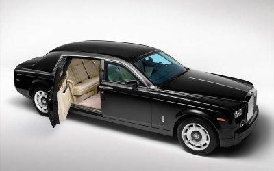 Roll-Royce Phantom Armoured.