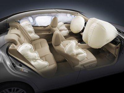 Túi khí ô tô.