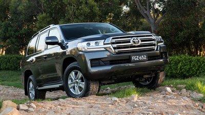 Chi tiết giá và thông số kỹ thuật của Toyota LandCruiser 200 Series phiên bản 2020v