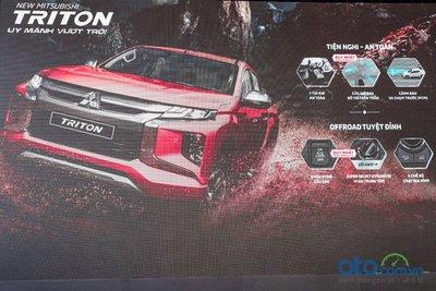 Các tính năng mới trên Mitsubishi Triton 2020.