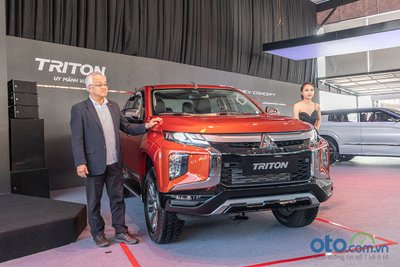 Mitsubishi Triton 2020 được giới thiệu tại sự kiện Mitsubishi Festival 2019.