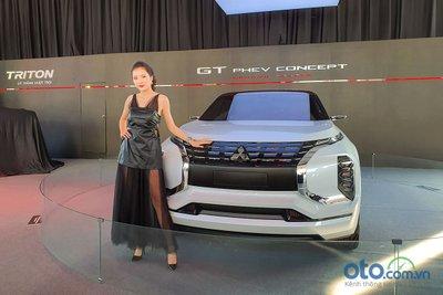 Mẫu GT PHEV concept được trưng bày tại Mitsubishi Festival 2019.