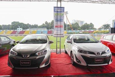 Toyota Vios vẫn là xe bán chạy nhất của hãng với 2.317 xe giao đến tay khách hàng 1