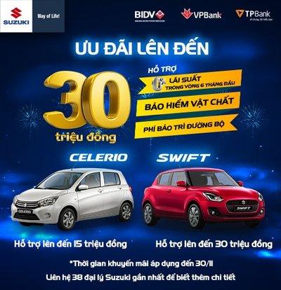 Khuyến mại Suzuki tháng 11/2019: Suzuki Swift ưu đãi 30 triệu đồng a1