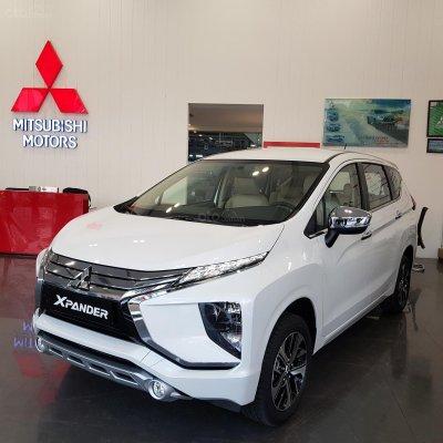 Mitsubishi Xpander 2019 màu trắng 1
