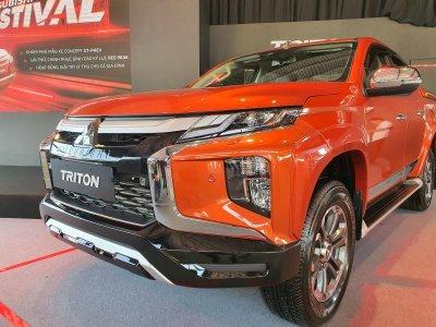 Mitsubishi Triton phiên bản nâng cấp 1