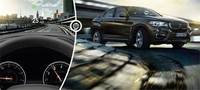 Thông số tiện nghi xe BMW X6.