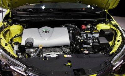 Thông số động cơ Toyota Yaris 2020.