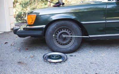Kích gầm xe ô tô.