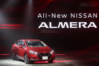 Nissan Sunny 2020 chào giá 382 triệu, tăng sức mạnh động cơ