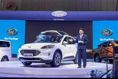 Ông Nguyễn Ngọc Khương, Phó TGĐ Ford Việt Nam trong buổi giới thiệu Ford Escape 2020 tại triển lãm Vietnam Motor Show 2019.
