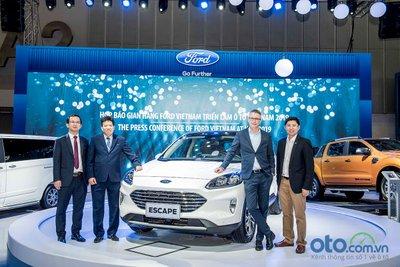 Ford Escape 2020 sẽ được bán vào năm 2020 dưới dạng lắp ráp trong nước.
