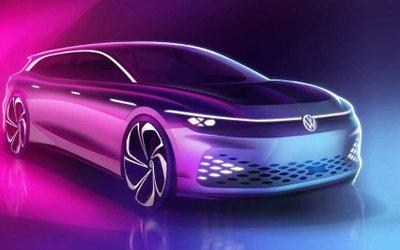 Volkswagen I.D. Space Vizzion.
