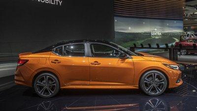[Los Angeles 2019] Nissan Sentra 2020 mang lối tạo hình sắc bén