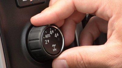 nút chuyển 2WD sang 4WD