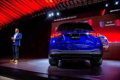 [Los Angeles 2019] Mercedes-AMG GLE 2021 63 và 63S tăng tốc chớp nhoáng