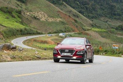 Hyundai Kona sẽ được gắn liền với 10 cung đường đẹp nhất Việt Nam.