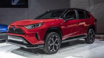 [Los Angeles 2019] Toyota RAV4 Prime 2021 ra mắt, đọ lực với Ford Escape 2020