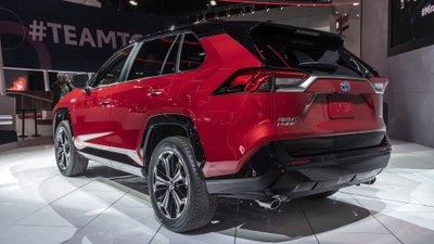 [Los Angeles 2019] Toyota RAV4 Prime 2021 có tầm vận hành thuần điện ấn tượng
