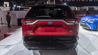 [Los Angeles 2019] Toyota RAV4 Prime 2021 dự kiến sở hữu bố cục hiện đại