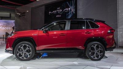 [Los Angeles 2019] Toyota RAV4 Prime 2021 mạnh mẽ, cường tráng