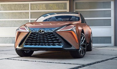 Lexus LF-1 Limitless concept.