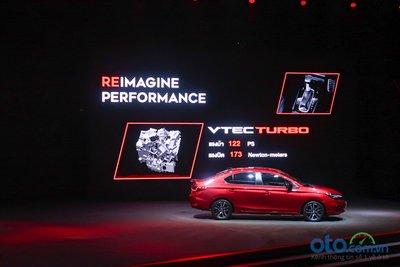 Honda City 2020 sẽ có sự lựa chọn động cơ VTEC Turbo 1.0L.