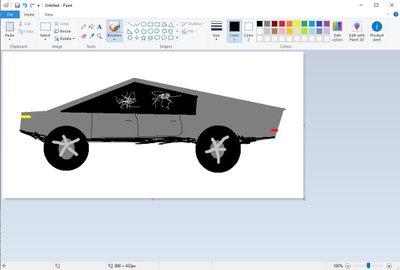 Một số hình ảnh của mẫu bán tảiTesla Cybertruck concept được chế lại - Ảnh 5.