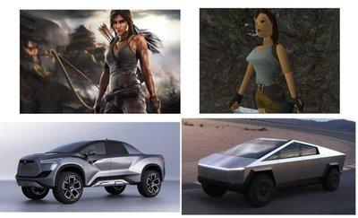 Một số hình ảnh của mẫu bán tảiTesla Cybertruck concept được chế lại - Ảnh 2.
