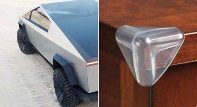 Một số hình ảnh của mẫu bán tảiTesla Cybertruck concept được chế lại - Ảnh 6.