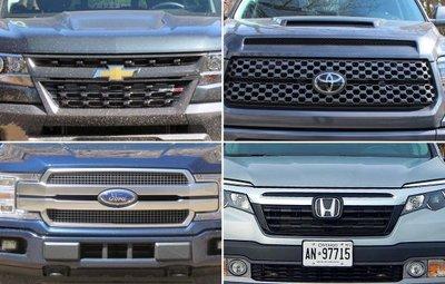 Thị phần xe Ford và Chevrolet mất phần về tay đối thủ