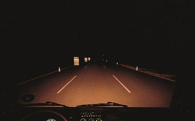 Kinh nghiệm lái xe ban đêm không có đèn đường.