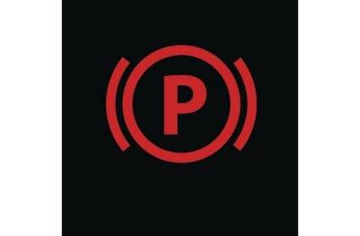 Đèn báo phanh đỗ xe.