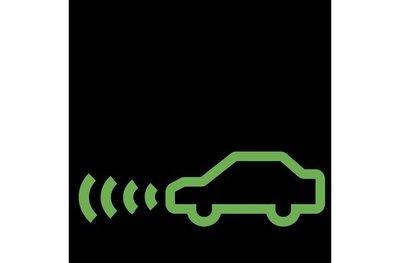 Đèn báo hệ thống kiểm soát hành trình thích ứng.