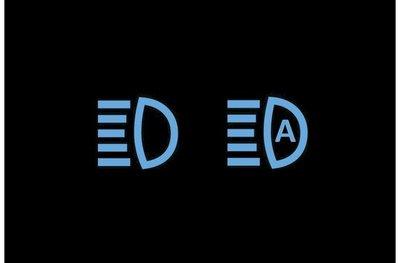 Đèn báo đèn pha/đèn pha tự động đang bật.