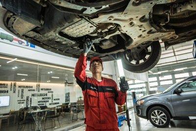 khách hàng mang xe đến các Đại lý ủy quyền toàn quốc của MMV sẽ được kiểm tra xe miễn phí.